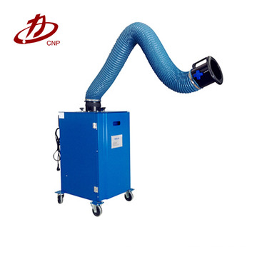 Welding fume portable cartridge filter