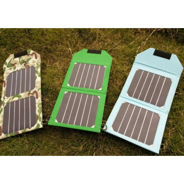 6W Sunpower Solar Foldable Mobile Phone Charger for iPad Electric Book