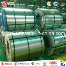 A bobina de aço de Aluzinc / Galvalume / Dx51d Z100 galvanizou a bobina de aço
