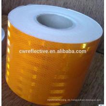 Vinyl Aufkleber PVC hohe Sichtbarkeit selbstklebende reflektierende Film Werbematerial in Dongguang China hergestellt