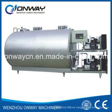 Máquina de ordeño de vaca de acero inoxidable Shm Tanque de leche para refrigeración de leche con sistema de refrigeración