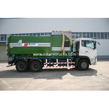 Dongfeng 6x4 13.4ton Garbage Collection Vehicles Truck With Detachable Container