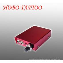 Nuevo diseño Mini y precio competitivo Fuente de alimentación de aluminio del tatuaje