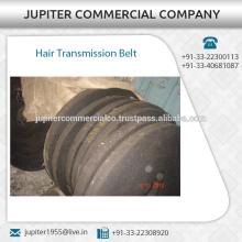 Hilado de algodón hecho cinturón de transmisión de cabello disponible en diferentes tamaños