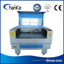 Máquina a laser para corte de papel de tecido Ck6090 90W / 60W