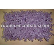 Alfombra plástica de la hierba artificial para la decoración casera