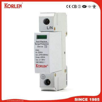 Korlen Surge Protection Device SPD AC 275V Surge Protector 2p 10ka-40ka