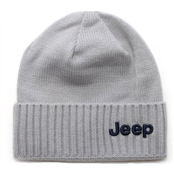 New Coming Jeep 3D Embroidery Knitted Hat