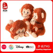 Qualidade personalizada Stuffed Soft Animal Plush Toy Macaco Dos Desenhos Animados
