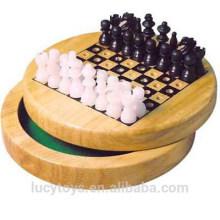 Xadrez de madeira