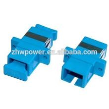 Adaptateur fibre optique à fibre optique SC UPC, coupleur à fibre optique sc, adaptateur fibre optique monophasé sc upc