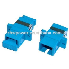 SC UPC flange fiber optic adapter,sc fiber optic coupler,sc upc singlemode fiber adapter