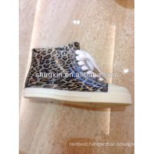 fashion women ankle rain boots /cheap pvc boots shoes