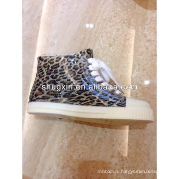 мода женщин лодыжки дождя сапоги / ботинки дешевые ПВХ