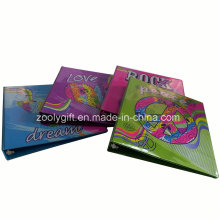 Carpetas de encargo del PVC 3 D de la manera modificada para requisitos particulares de la calidad