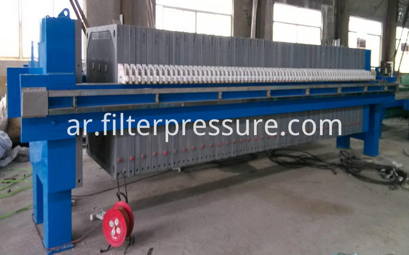 Sewage Plate Frame Filter Press