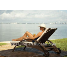Hot sale Outdoor All Weather beach chaise stackable