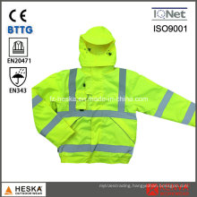 High Visibility 3-in-1 Waterproof Reflective Flight Jacket