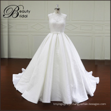 Nova chegada bonito vestido de casamento vestido de baile querida Mikado