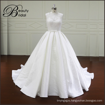 New Arrival Pretty Sweetheart Mikado Ball Gown Wedding Dress