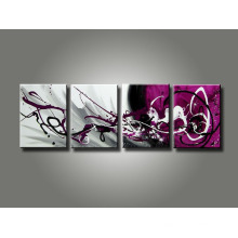 Latest Decorative Canvas Abastract Oil Painting