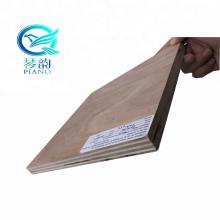 18mm 1220x2440 Size poplar core okoume pencil cedar bintangor face back UTY packing grade plywood
