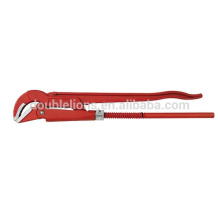 45 Angle light Bent nose pipe wrench