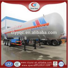 3 ejes de camión cisterna de GLP
