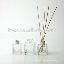 50ml 100ml 150ml square reed diffuser bottles wholesale