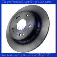 MDC2174 DF4982 42510TA0A01 42510TA0A00 42510SFY000 rear car brake disc rotor for acura tsx
