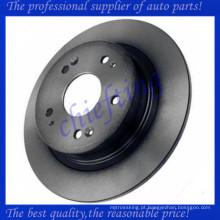 MDC2174 DF4982 42510TA0A01 42510TA0A00 42510SFY000 rotor do disco de freio do carro traseiro para acura tsx