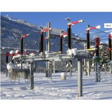 170kV al aire libre HV AC Interruptor central seccionador seccionador