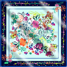 NUEVAS bufandas de seda de la señora de la manera del estilo y bufanda de la cachemira