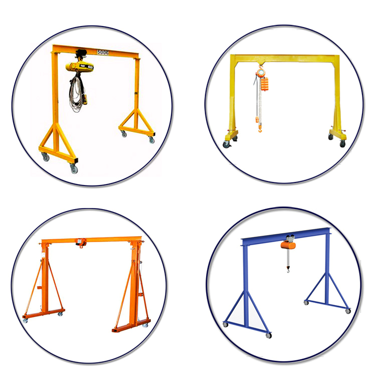 Mini Electric Mobile Gantry Crane