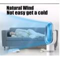 12inch ABS bladeless fan, brushless dc electric stand fan, table fan