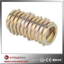 Los anillos calientes del anillo NdFeB de la venta / el anillo del neodimio de D100x45x20m m / los imanes del poder más elevado