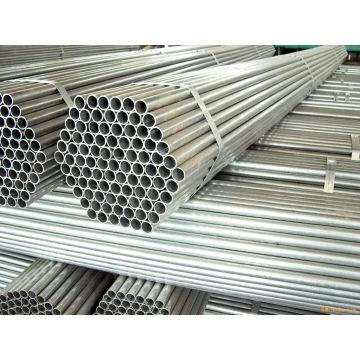 Tubo de aço galvanizado por imersão a quente sem costura
