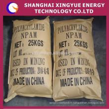 Alibaba fournisseurs de haute qualité cationique / polyacrylamide anionique