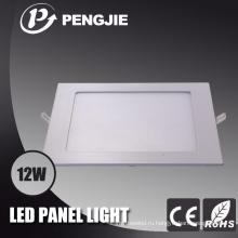 Квадрат 12w вел потолочное освещение для офиса с CE