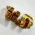 Dernières pièces de cuivres CNC Milling CNC