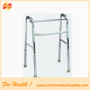 Aluminum old people walker disabled rollator