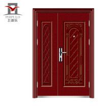 Buena calidad puerta de acero pavo diseño de la puerta