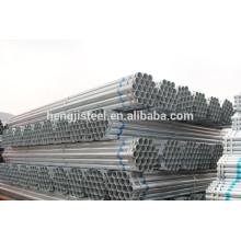 Schedule 40 tubos de aço galvanizado a quente de aço carbono