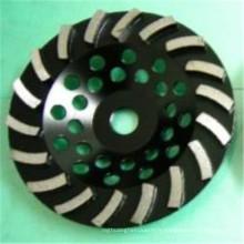 disque de meulage de plancher de diamant de turbo de béton