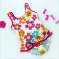 Little Girls Fashion Ruffled Swimwear