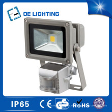 Zertifikat Qualität 10W LED Flutlicht mit Sensor