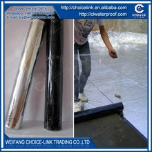 self adhesive modified bituminous waterproof membrane for roof
