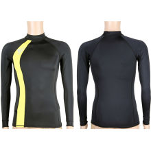 Men's Long Sleeve Slim Fit Lycra Full Body Rash Guard 2xl, M Sun Protection For Surfing