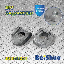 M8 Steelwork Beam Clamp Fastener for Pipe Fixing