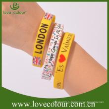 Бесплатный сувенирный подарок ароматизированный силиконовый браслет без минимального заказа